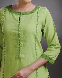 Latest Churidar Neck Models Salwar Patterns (26)