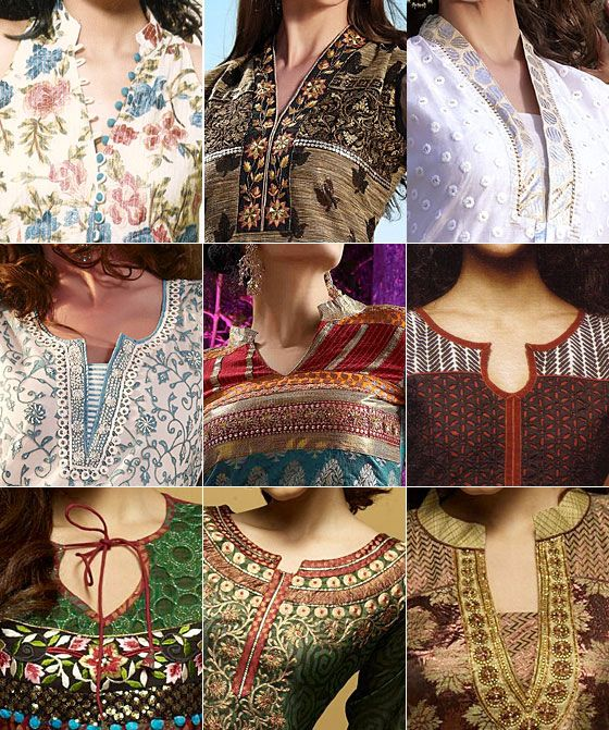Latest Churidar Neck Models Salwar Patterns (35)