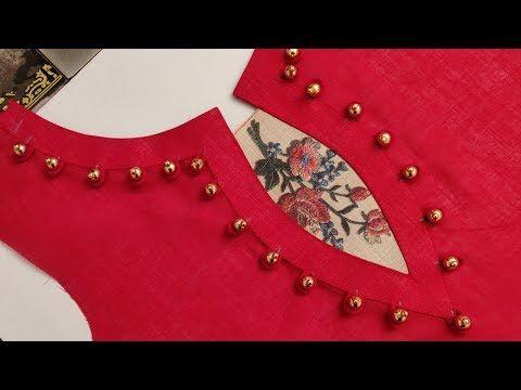 Latest Churidar Neck Models Salwar Patterns (41)