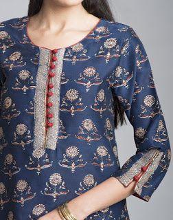 Latest Churidar Neck Models Salwar Patterns (43)