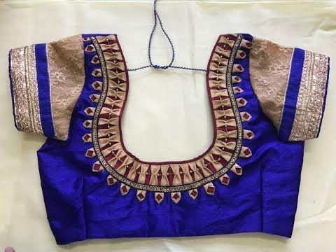Latest Churidar Neck Models Salwar Patterns (48)