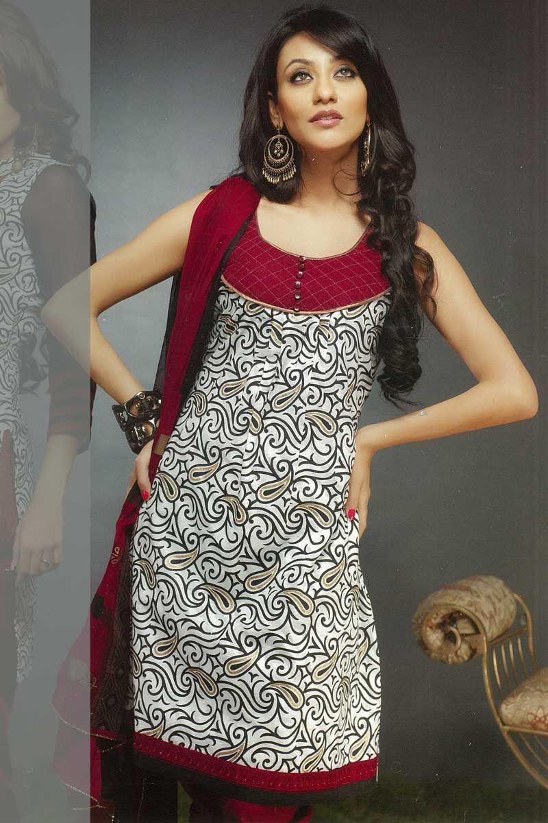 Latest Churidar Neck Models Salwar Patterns (67)