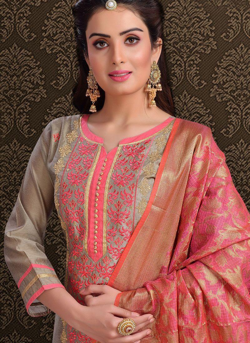 Latest Churidar Neck Models Salwar Patterns (69)