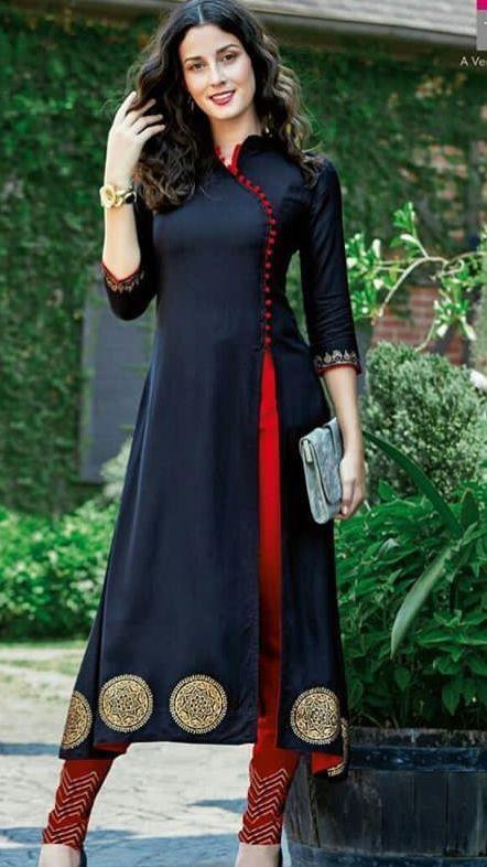 Latest Churidar Neck Models Salwar Patterns (71)