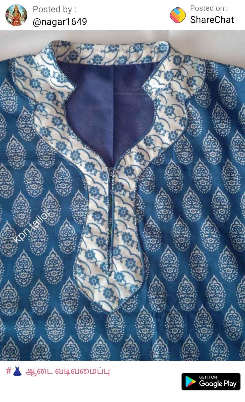 Latest Churidar Neck Models Salwar Patterns (75)