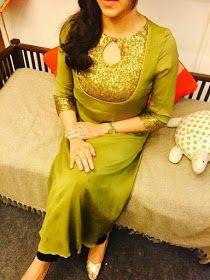 Latest Churidar Neck Models Salwar Patterns (77)