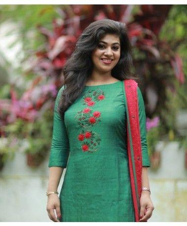 Latest Churidar Neck Models Salwar Patterns (88)