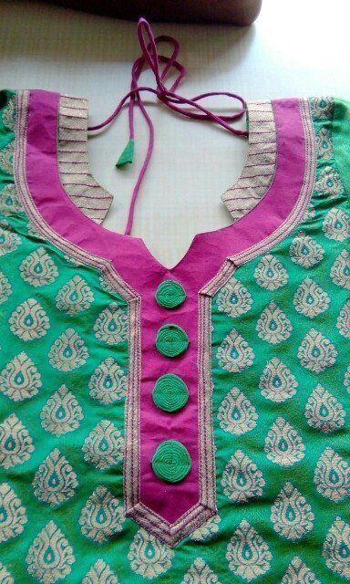 Latest Churidar Neck Models Salwar Patterns (90)