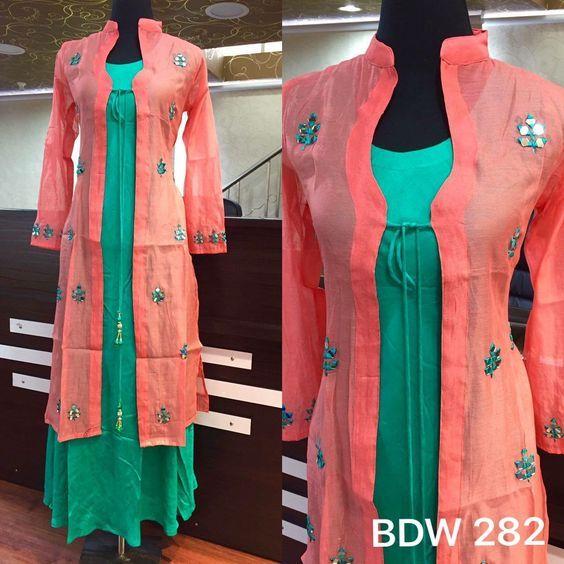 Latest Churidar Neck Models Salwar Patterns (93)