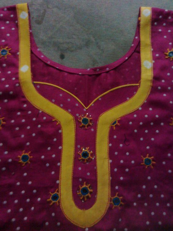 Latest Churidar Neck Models Salwar Patterns (96)