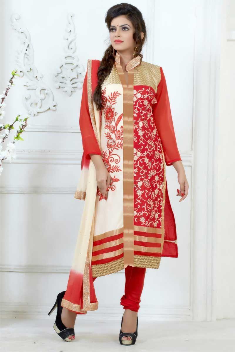 Salwar Kameez Neck Designs Catalogue (10)