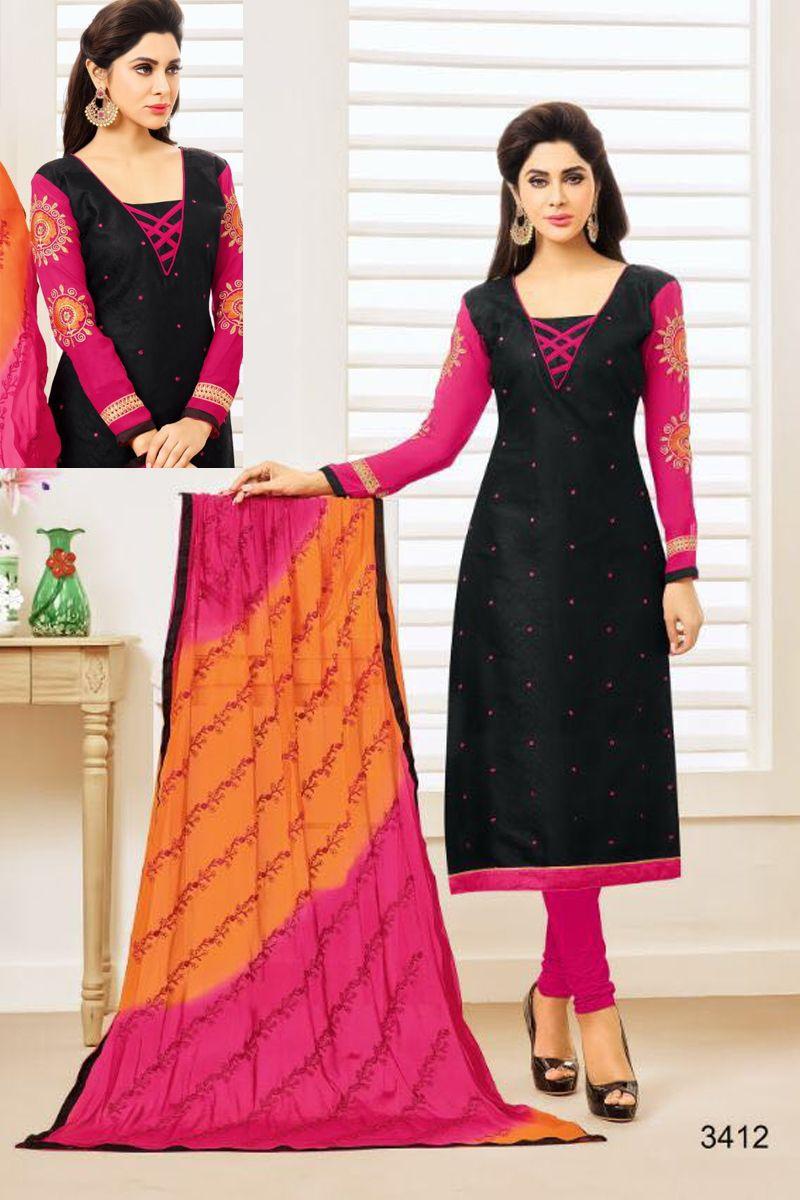 Salwar Kameez Neck Designs Catalogue (103)