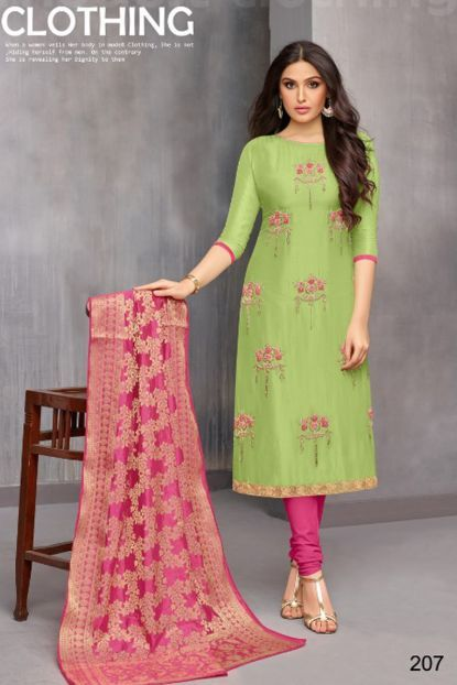 Salwar Kameez Neck Designs Catalogue (117)