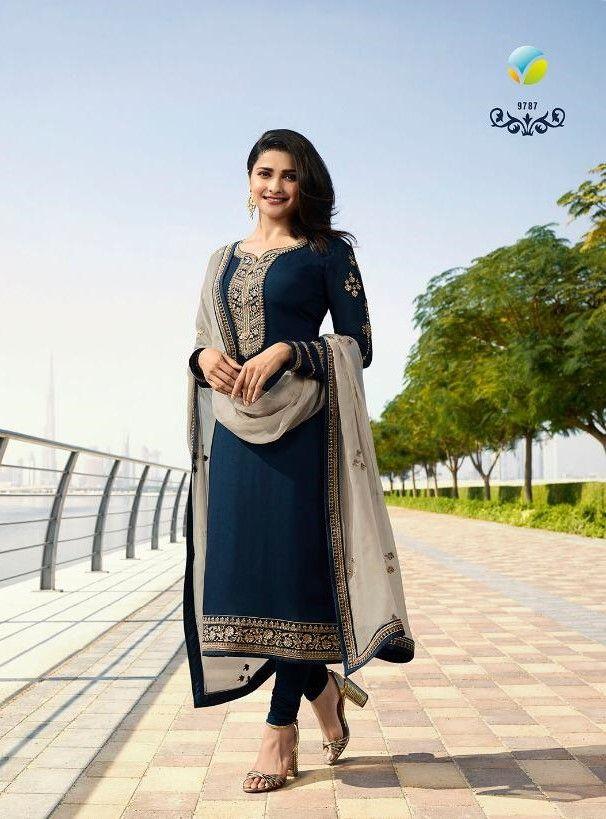 Salwar Kameez Neck Designs Catalogue (124)