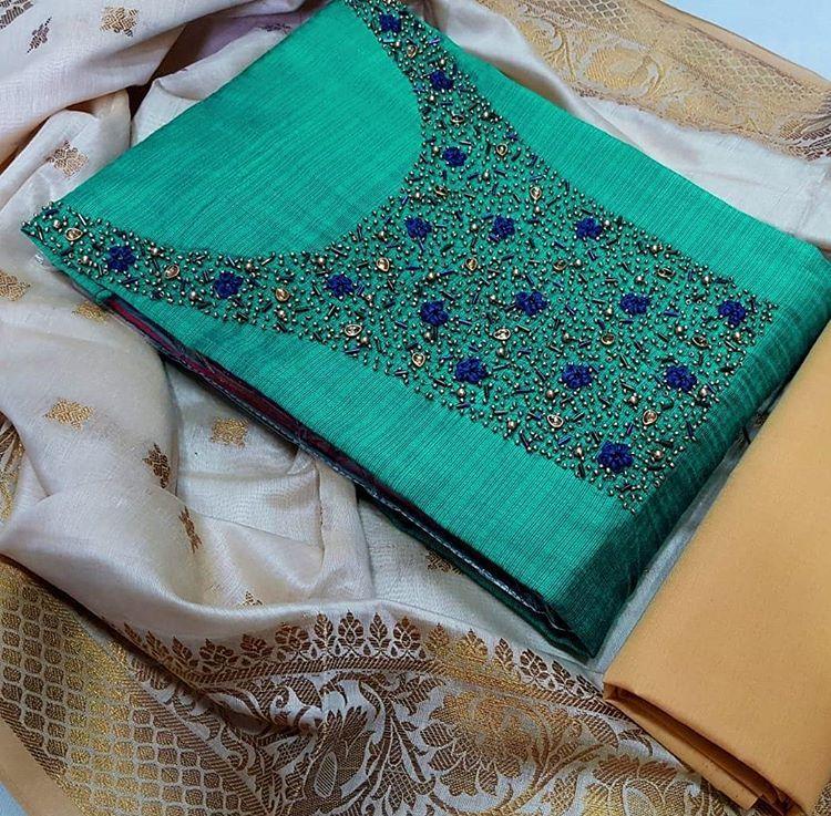 Salwar Kameez Neck Designs Catalogue (127)