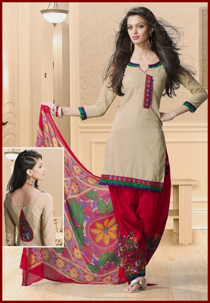 Salwar Kameez Neck Designs Catalogue (137)