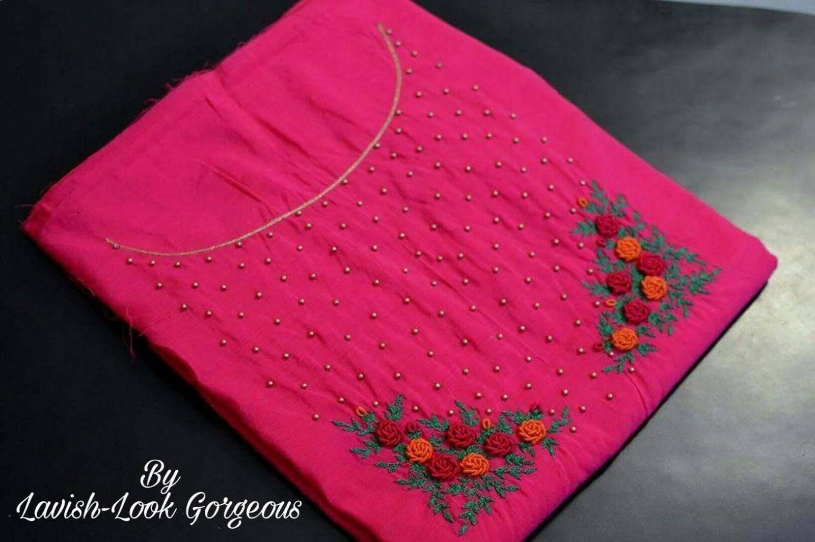 Salwar Kameez Neck Designs Catalogue (140)