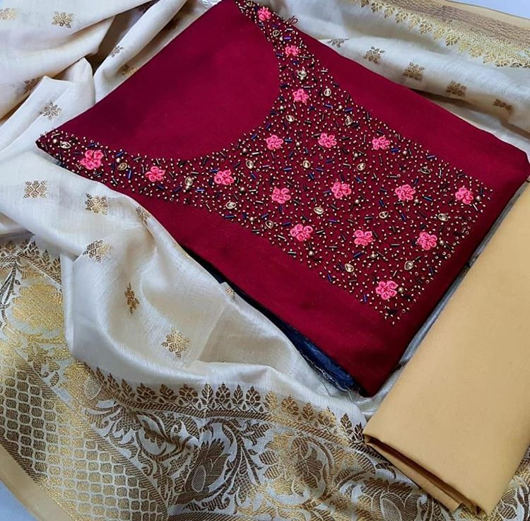 Salwar Kameez Neck Designs Catalogue (142)