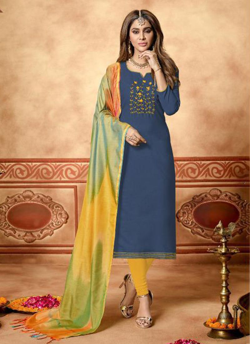Salwar Kameez Neck Designs Catalogue (143)