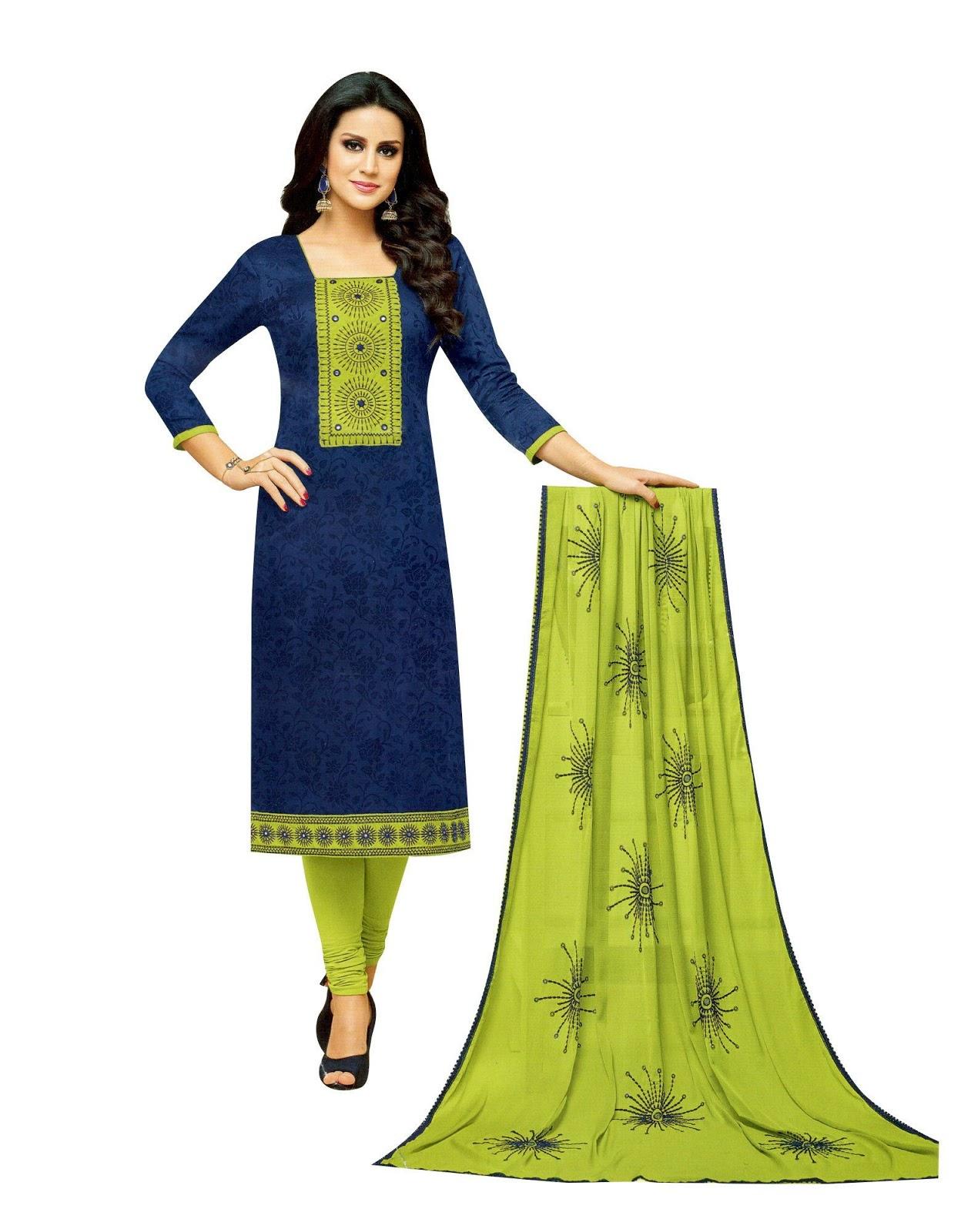 Salwar Kameez Neck Designs Catalogue (144)