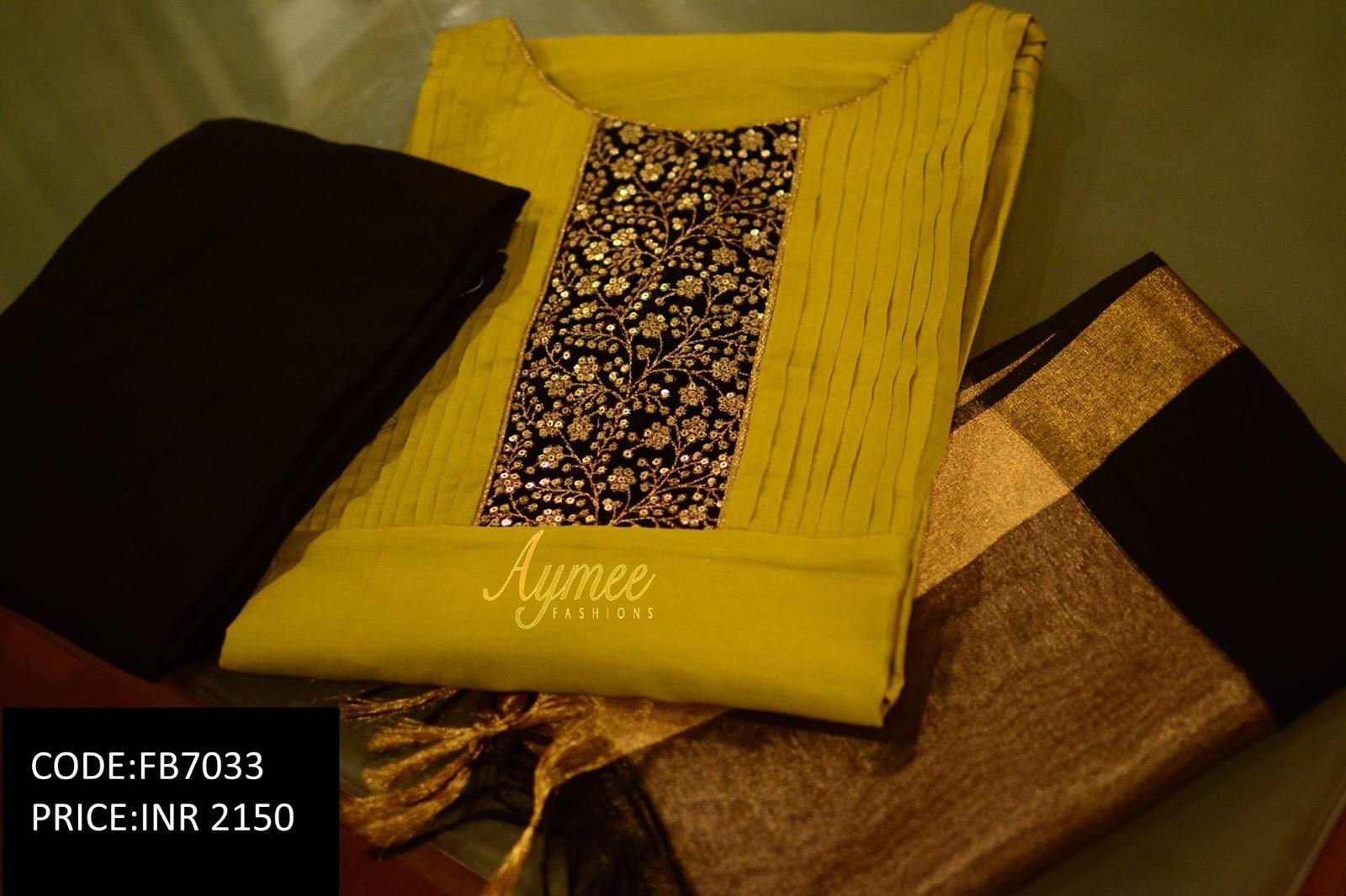 Salwar Kameez Neck Designs Catalogue (145)