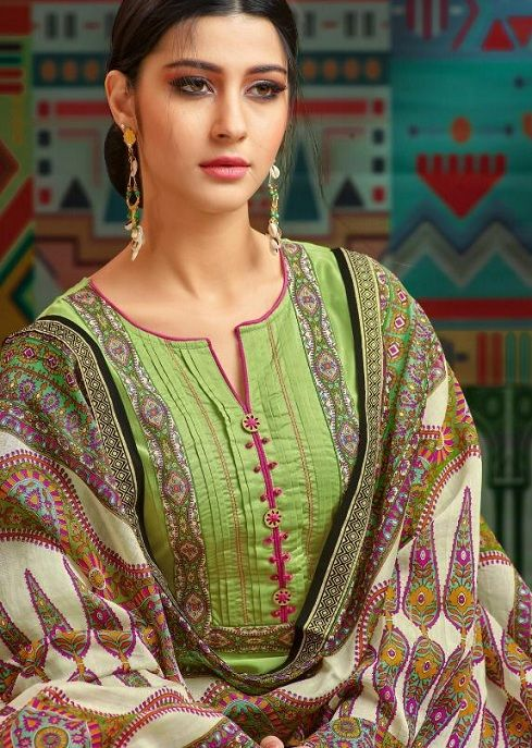 Salwar Kameez Neck Designs Catalogue (15)