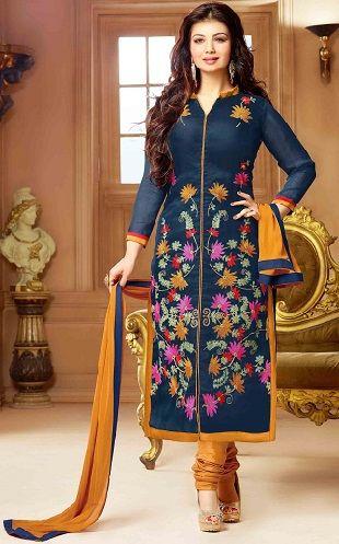 Salwar Kameez Neck Designs Catalogue (215)