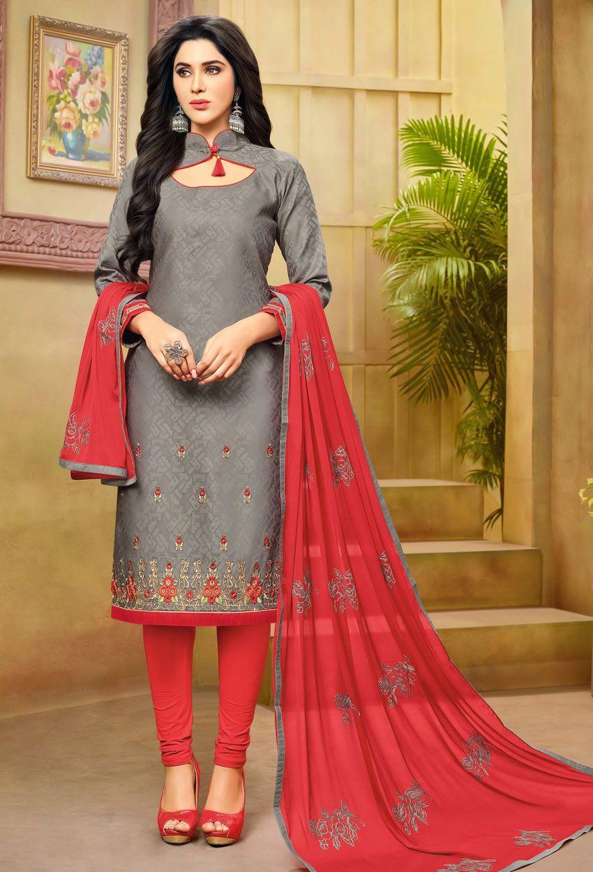 Salwar Kameez Neck Designs Catalogue (220)