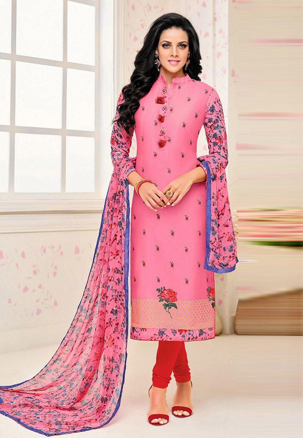 Salwar Kameez Neck Designs Catalogue (227)
