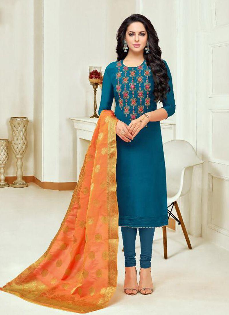 Salwar Kameez Neck Designs Catalogue (228)