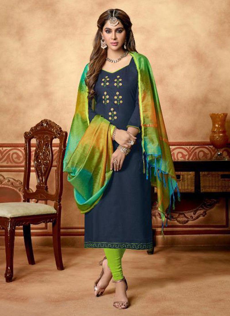 Salwar Kameez Neck Designs Catalogue (237)