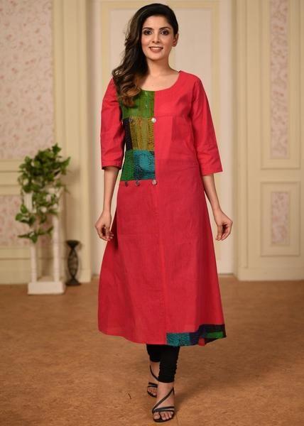 Salwar Kameez Neck Designs Catalogue (245)