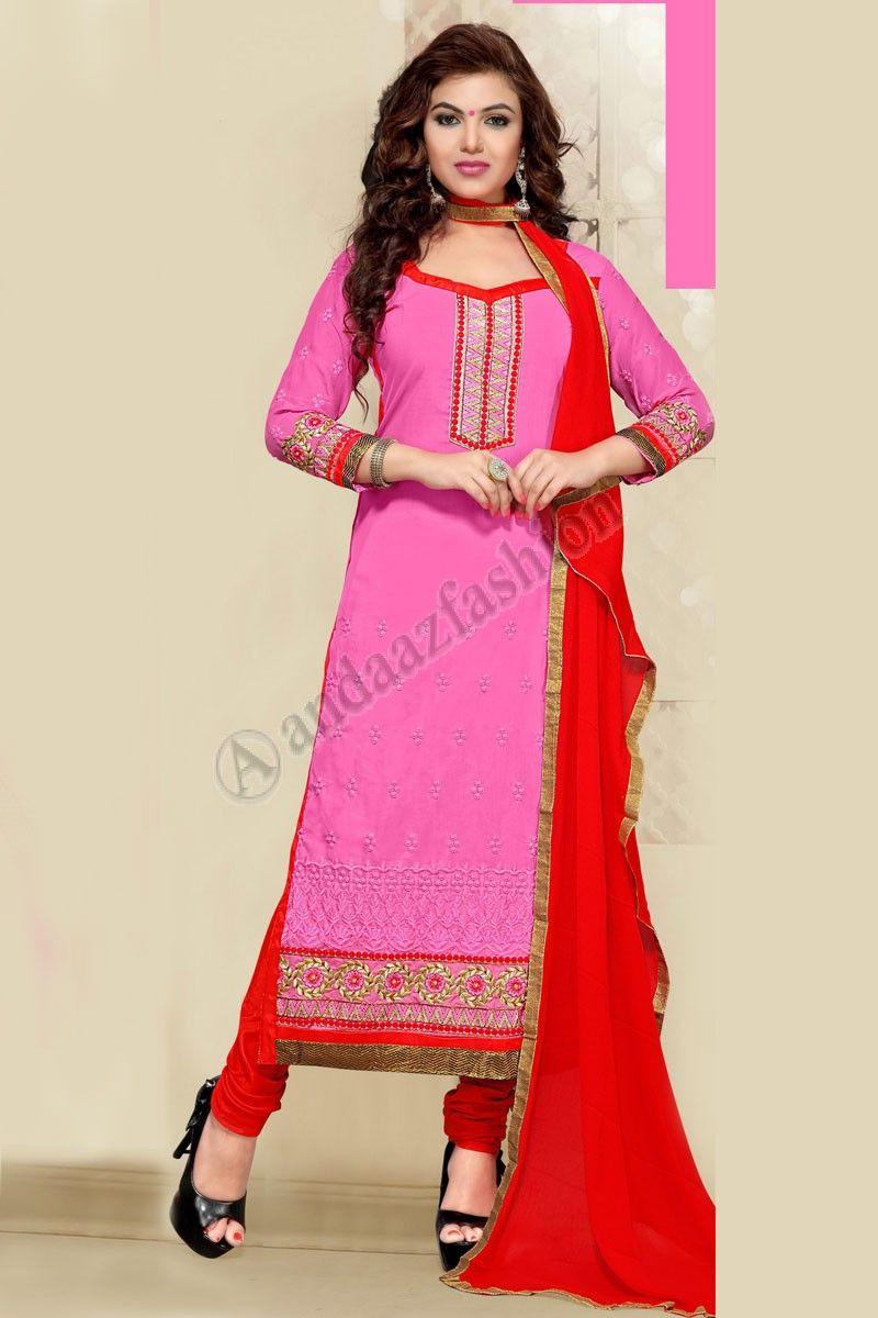 Salwar Kameez Neck Designs Catalogue (246)