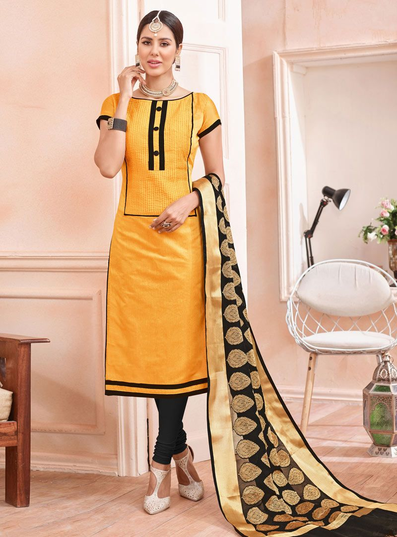 Salwar Kameez Neck Designs Catalogue (59)