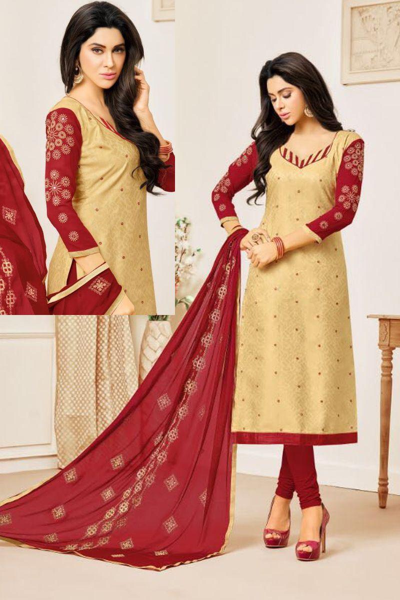 Salwar Kameez Neck Designs Catalogue (68)