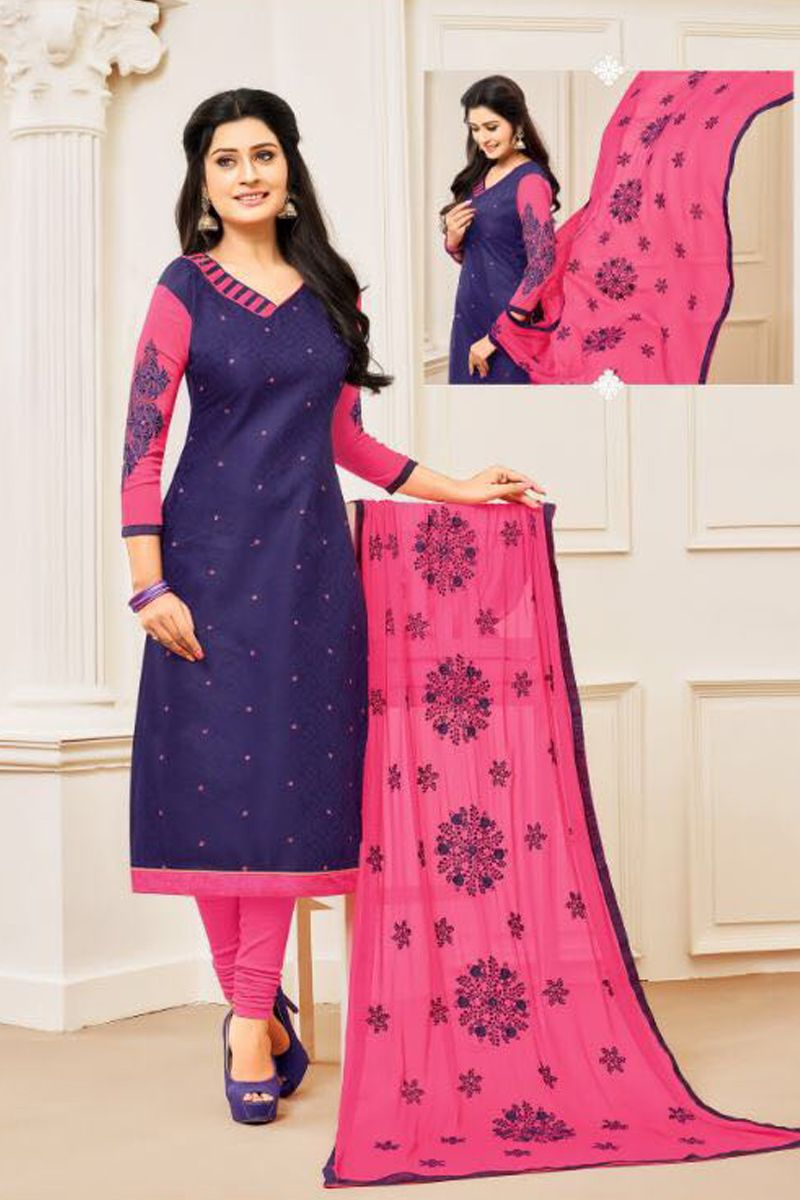 250 Churidar Neck Designs For Cotton Materials 2020 Model Catalogue