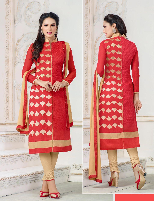 Salwar Kameez Neck Designs Catalogue (79)