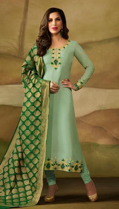 Salwar Kameez Neck Designs Catalogue (83)