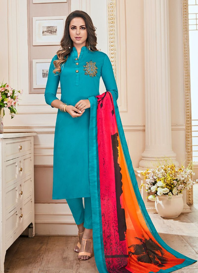Salwar Kameez Neck Designs Catalogue (9)