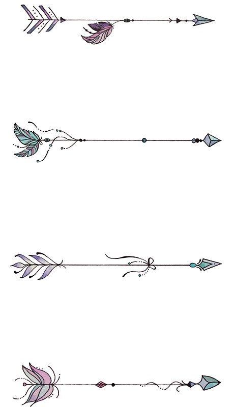 Significado De Tatuajes De Flechas Con Triangulos (11)