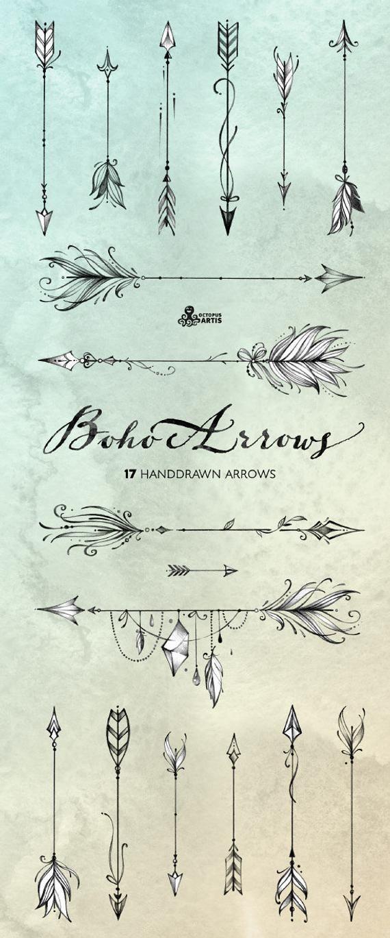 Significado De Tatuajes De Flechas Con Triangulos (115)