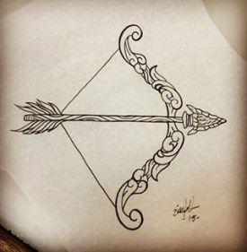 Significado De Tatuajes De Flechas Con Triangulos (116)