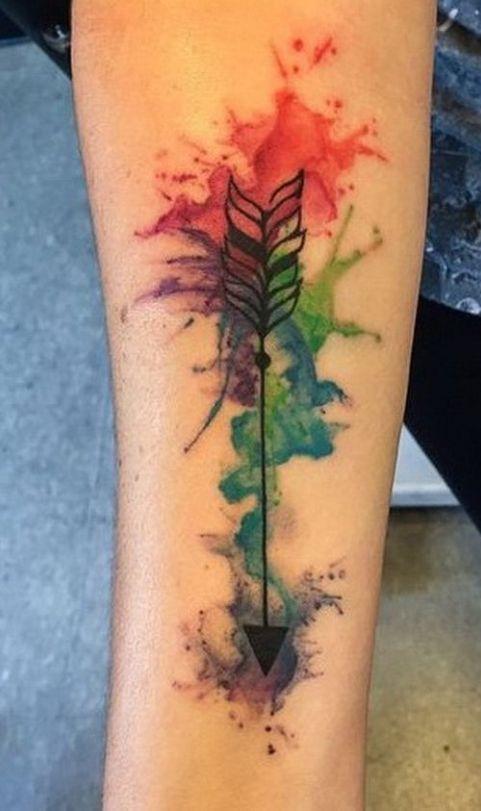 Significado De Tatuajes De Flechas Con Triangulos (117)