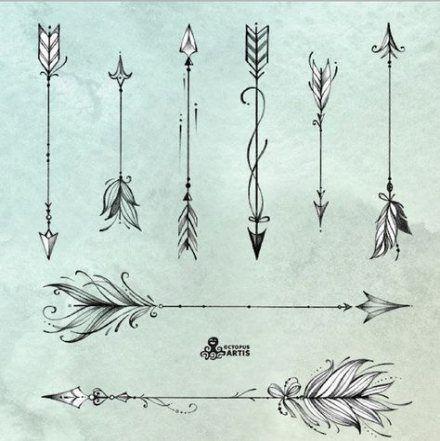 Significado De Tatuajes De Flechas Con Triangulos (120)
