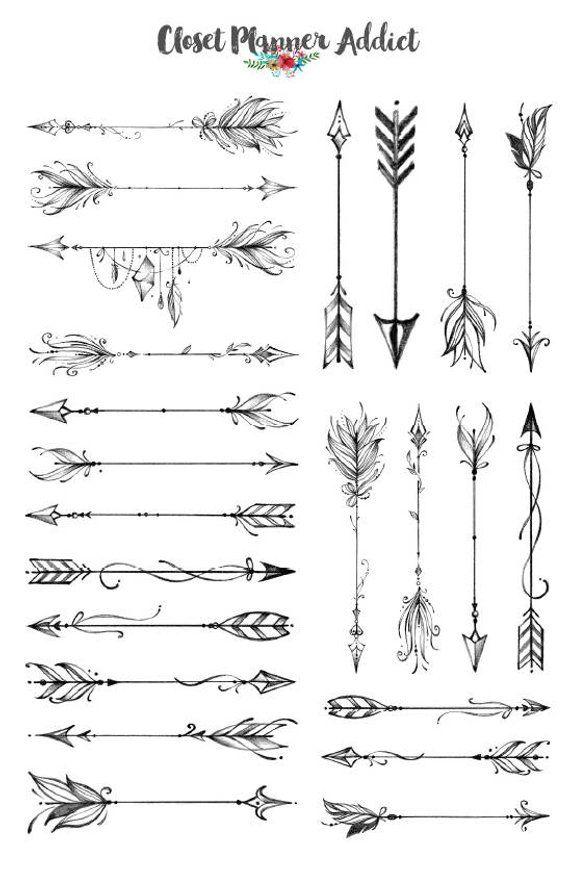 Significado De Tatuajes De Flechas Con Triangulos (124)