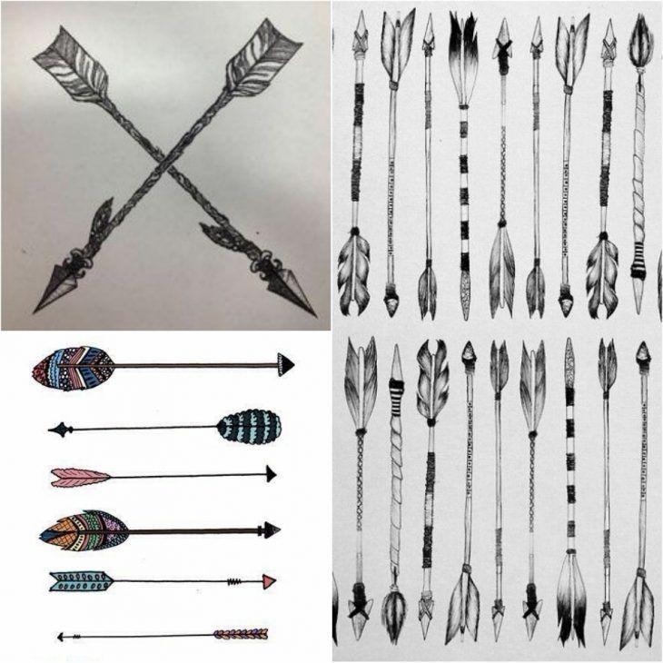 Significado De Tatuajes De Flechas Con Triangulos (126)