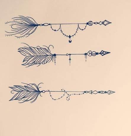 Significado De Tatuajes De Flechas Con Triangulos (13)