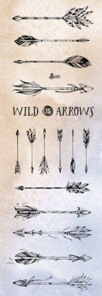 Significado De Tatuajes De Flechas Con Triangulos (131)