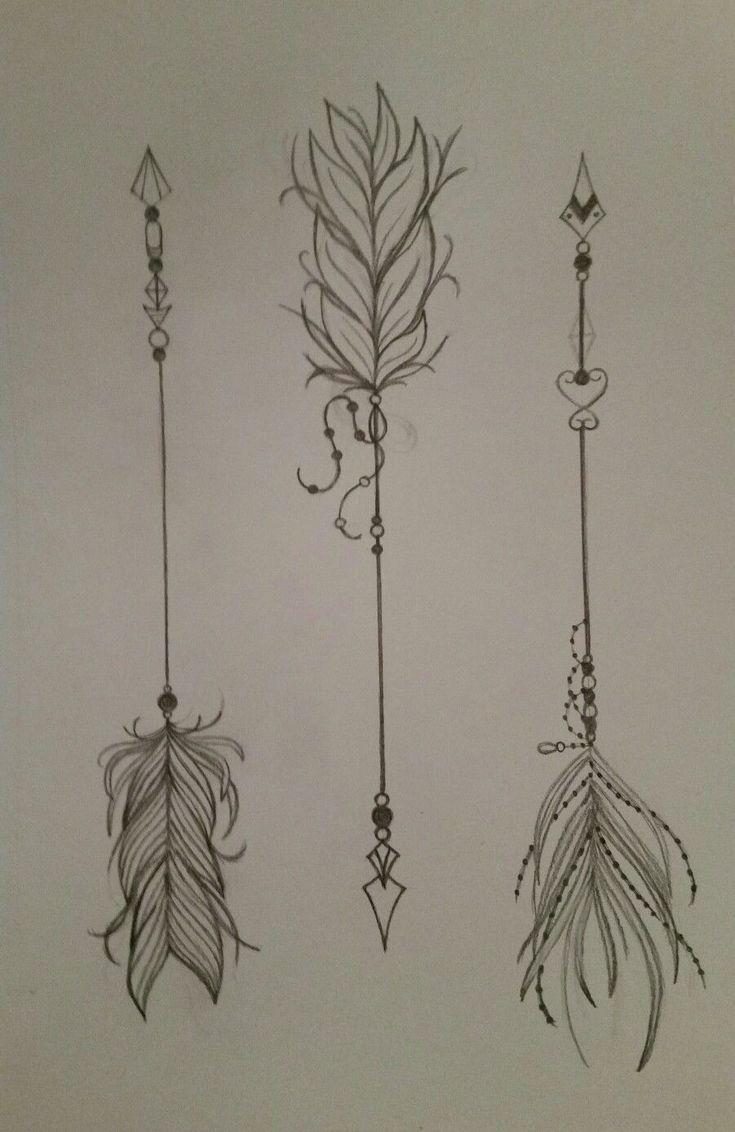 Significado De Tatuajes De Flechas Con Triangulos (133)
