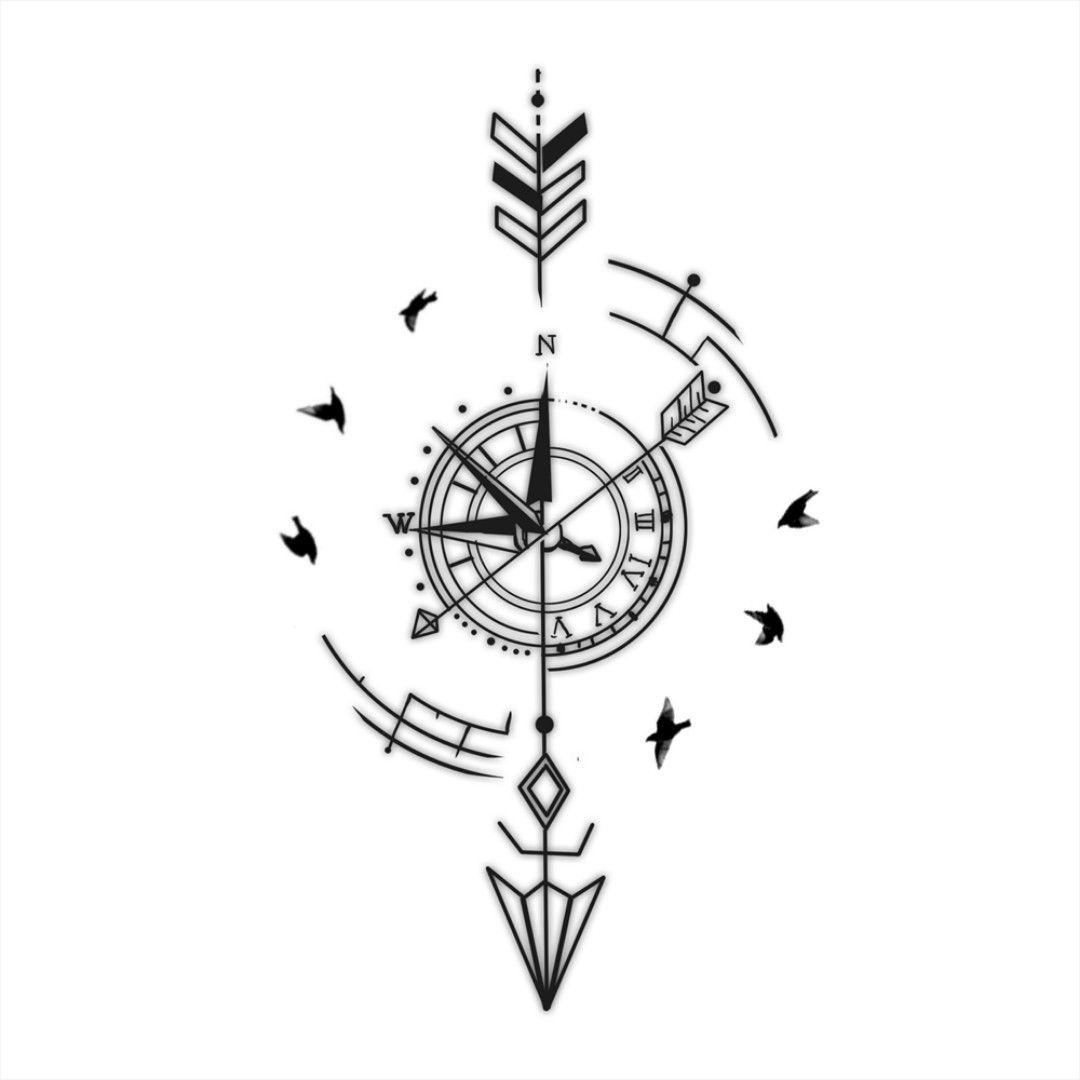 Significado De Tatuajes De Flechas Con Triangulos (139)